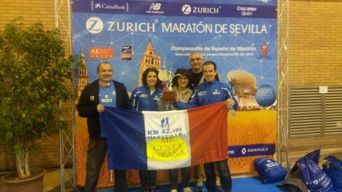 Séville village marathon