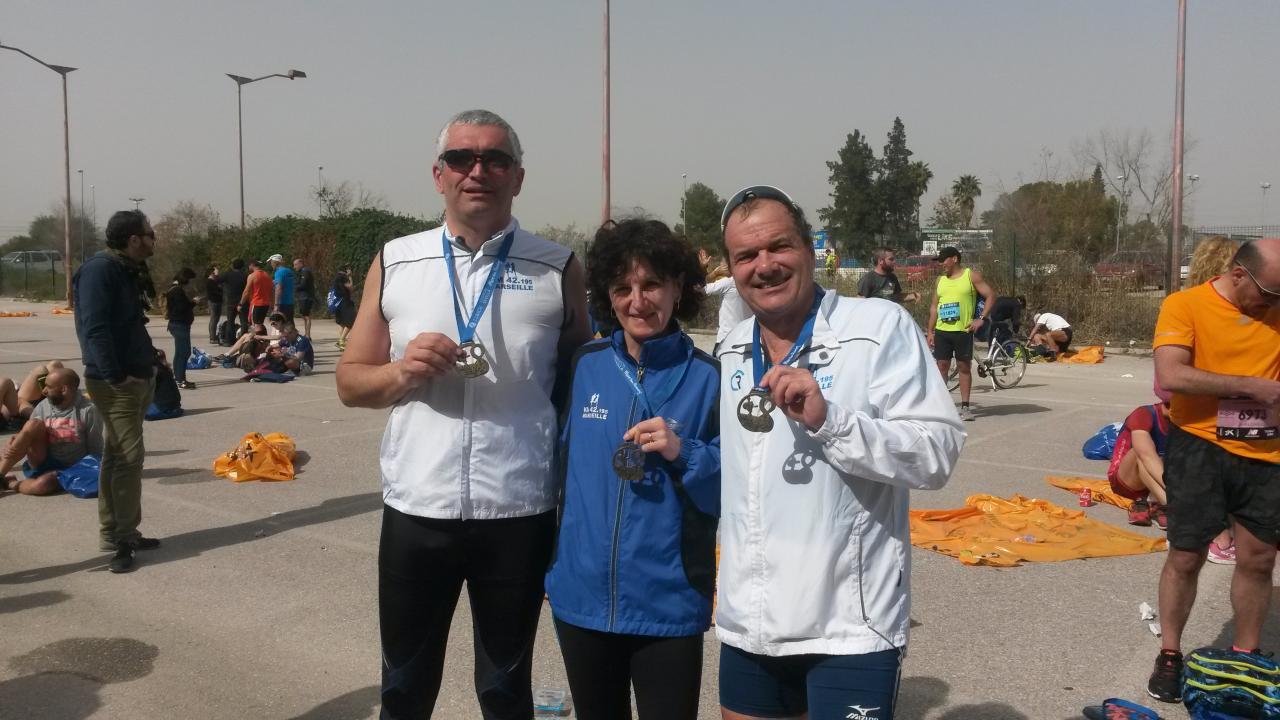 Séville avec la médaille
