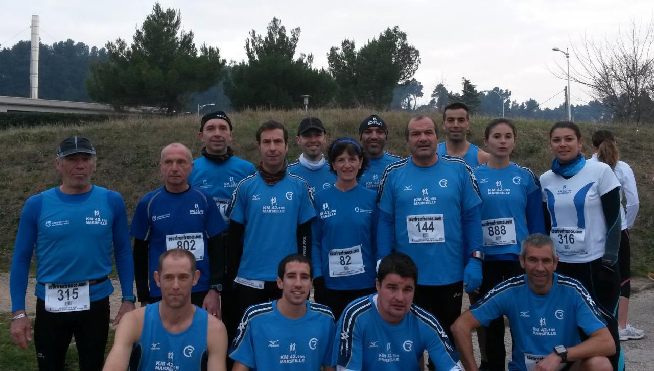 La Gardannaise 2014 et 2eme au challenge du nombre