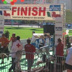 Monaco 2006  Arrivée de 2 nouveaux marathoniens
