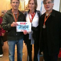 KM 42.195 Marseille  (Giulia et Laurent) à BERLIN 2010