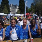 ANNECY 2011:Frédé :3h49', Chris G:3h49', Chris A :3h30', Rob M :4h24