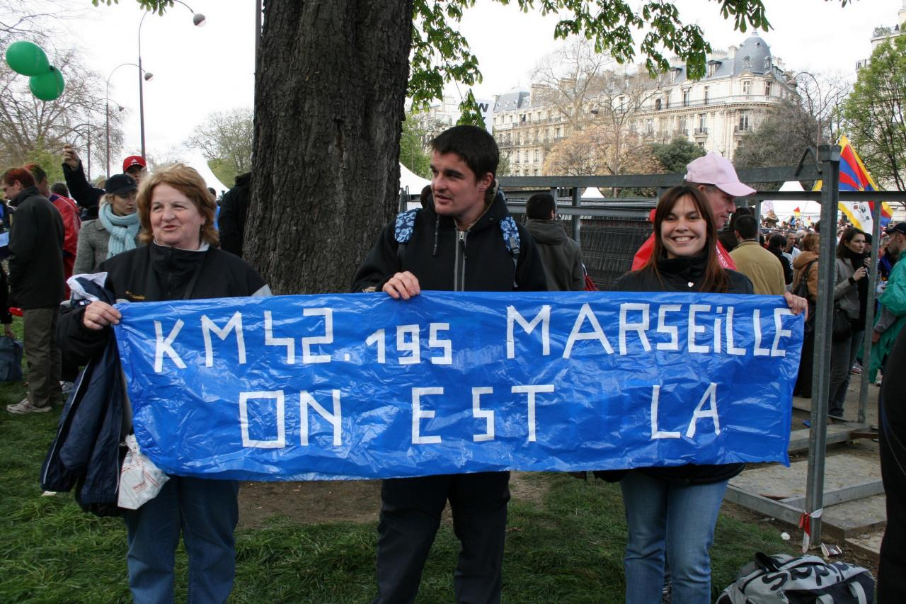 PARIS 2008 Merci aux supporters