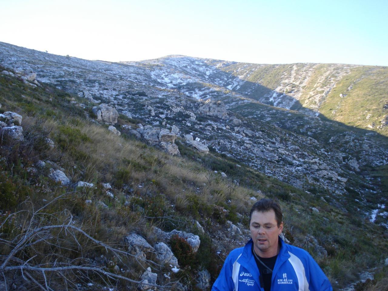 ALPES ou Mt Carpiagne 2éme recco