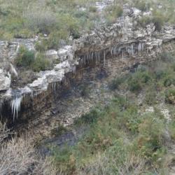 Stalactites au début du vallon de la barasse