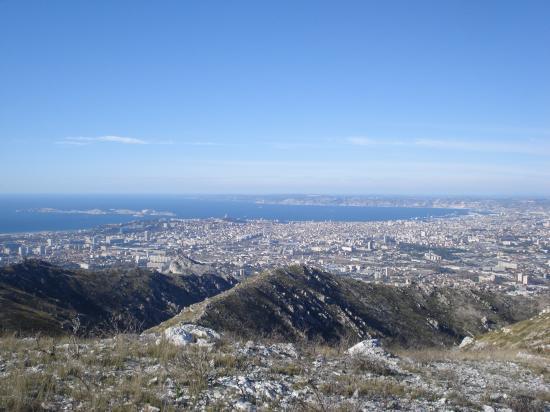 Marseille Vue de la vigie