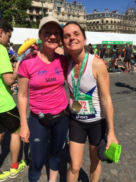 Stéphanie la nouvelle marathonienne