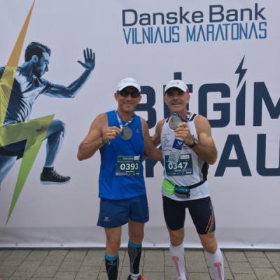 Jean Yves  et Michel à VILNUS 2017