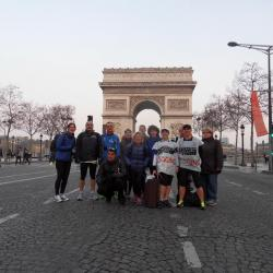 marathoniens à Paris