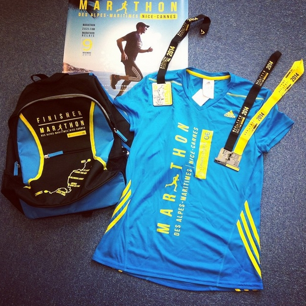 pack marathon Nice 2014