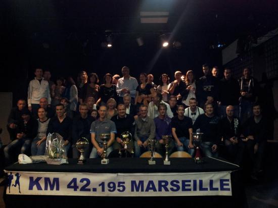 Soirée club fin d'année 2013