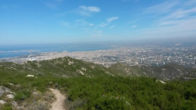 Vue du Mt St Cyr