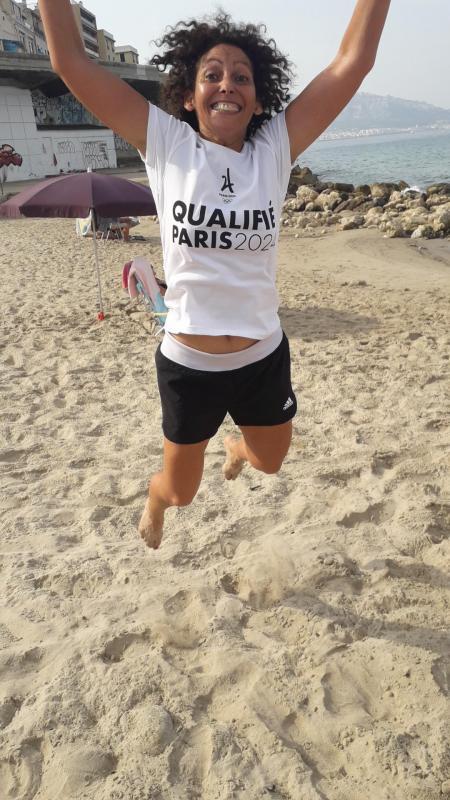 Lamia fera le marathon Paris 2024