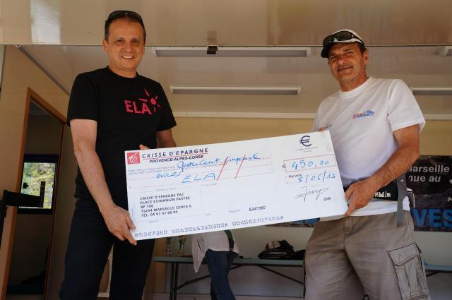 remise cheque ELA en 2013