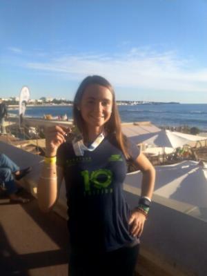 Célia à Nice