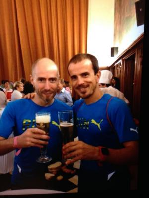 La récup aprés le Marathon