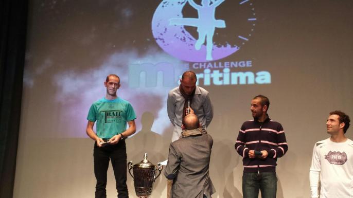 Podium challenge maritima 2015