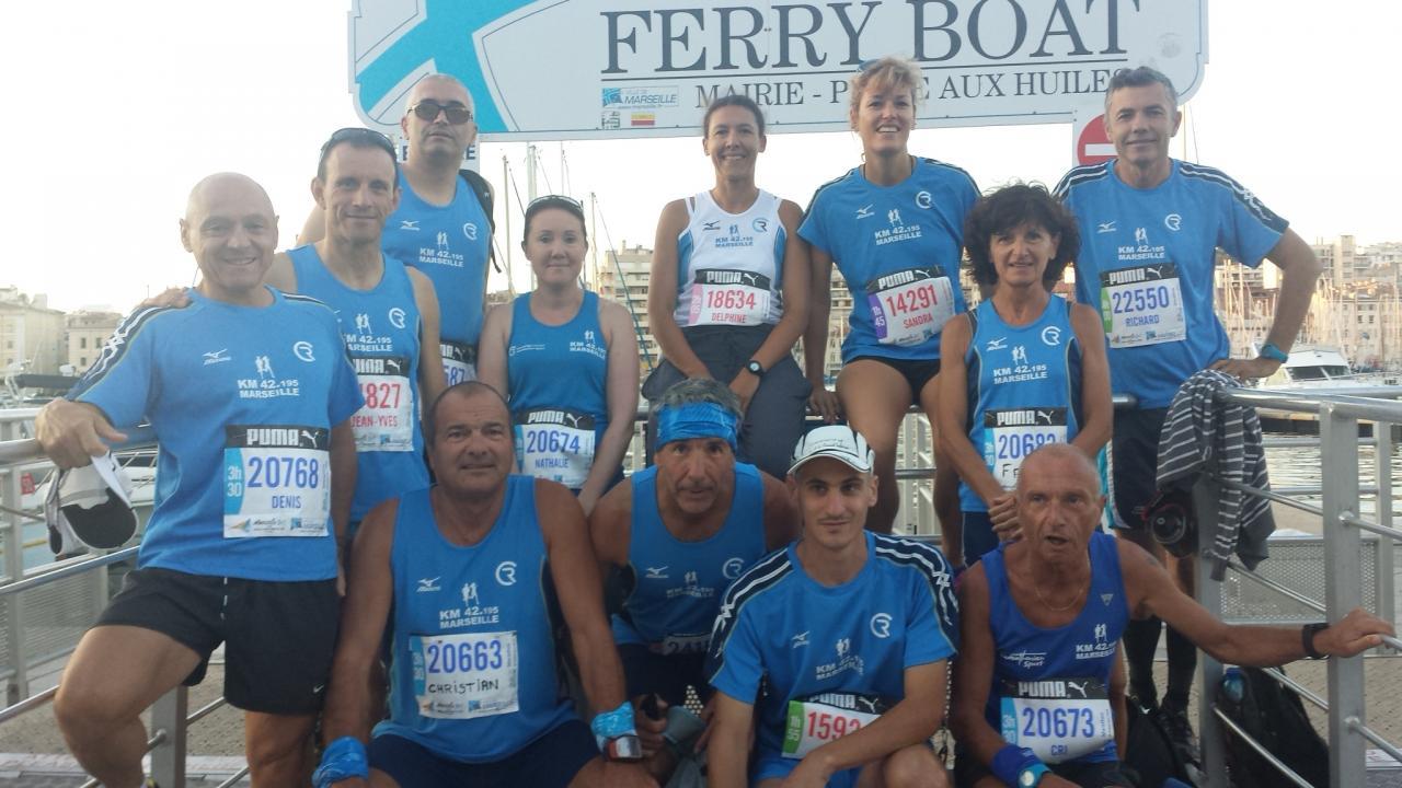 marathon Marseille 2014