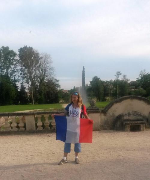 IRENE CHAMPIONNE DE FRANCE FSGT 10KM (sef2)