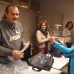 Remise du challenge à Irène pour sa victoire au Super Challenge FSGT 2016