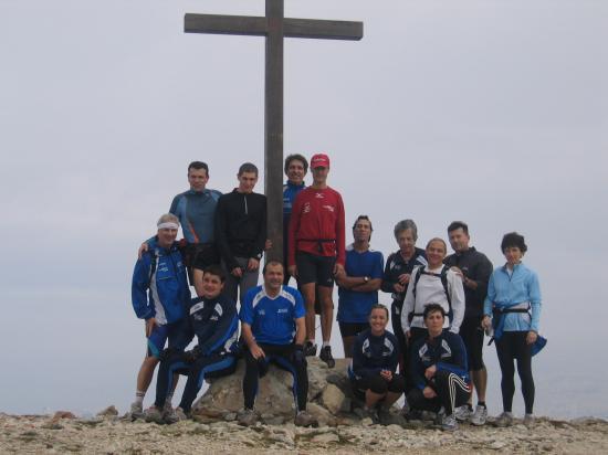 Entrainement Trail (au sommet de Marseilleveyre)