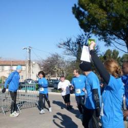 Arrivée d'ISABELLE à la corrida de Trets 2011
