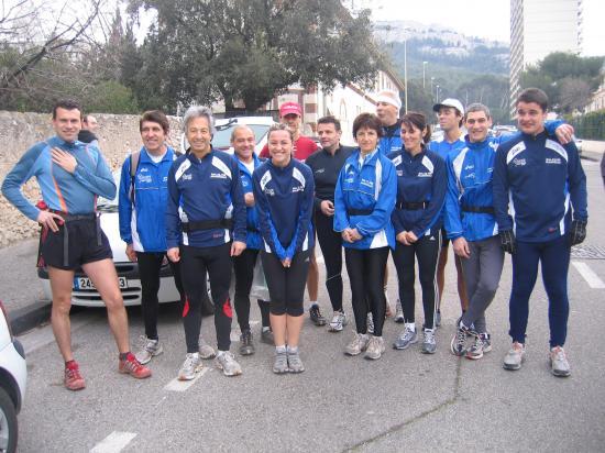 Entrainement trail    dans les calanques Marseillaises