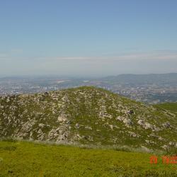 Mt St Cyr vu du Mt Carpiagne
