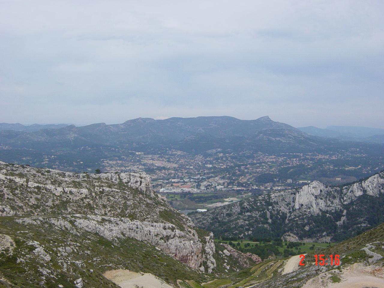 Vue du Col Galvaudan