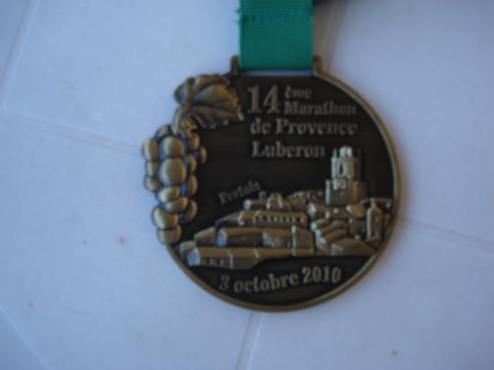 Médaille luberon 2010