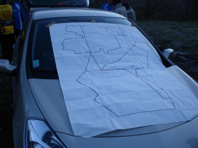 plan du trail 2éme recco