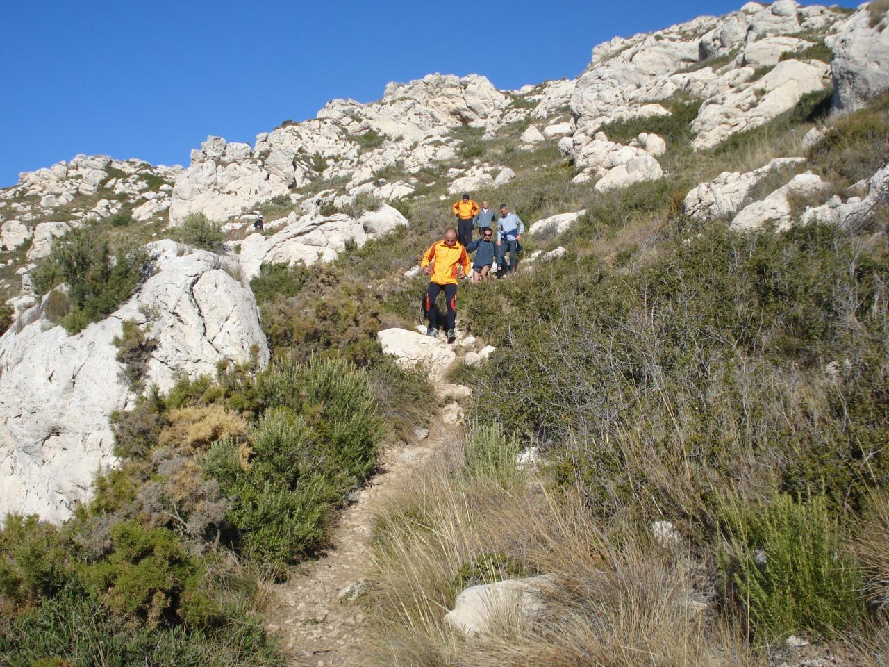 descente du Mt St Cyr 2éme recco
