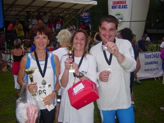 Chamonix 2006  les participants du 10 km
