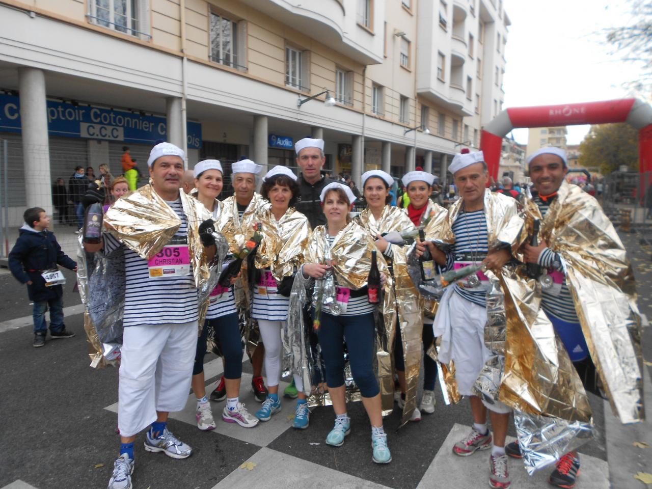 marathon beaujolais 2012