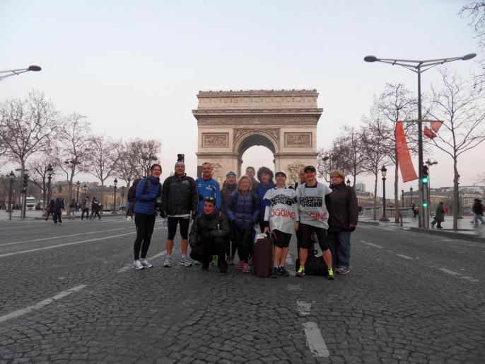 marathoniens à Paris